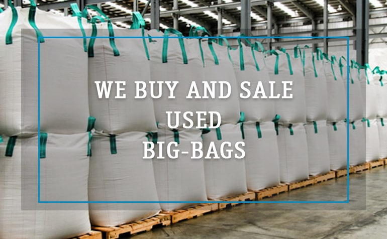 we buy and sale used Big-Bags